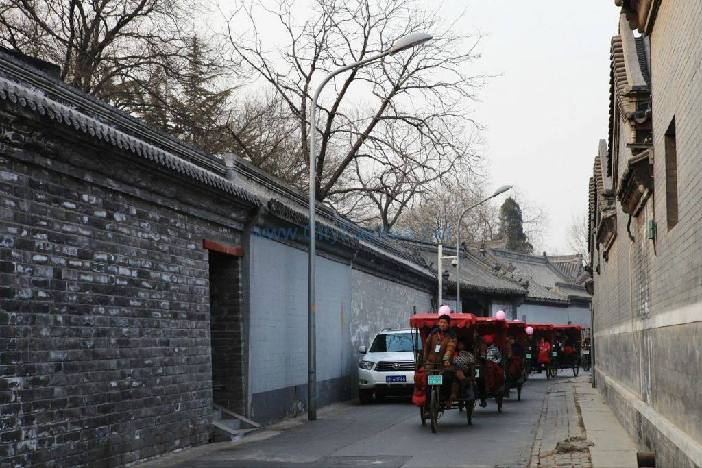 Tricycles of Beijing Hutong Tour