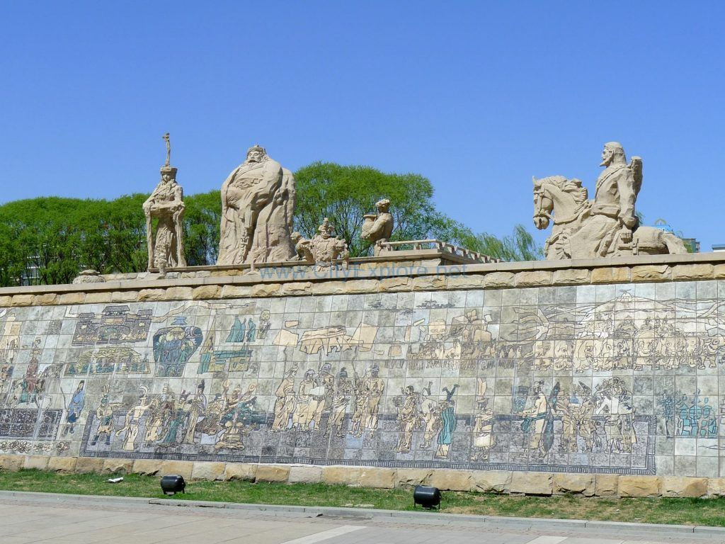 Sculptures of Yuan Dynasty City Wall Relic Park