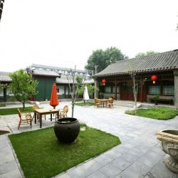 Beijing Quadrangle(The compound with houses around a courtyard)