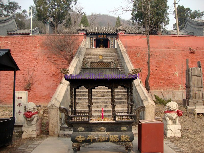 the Heaven Palace of Chici Heping Temple