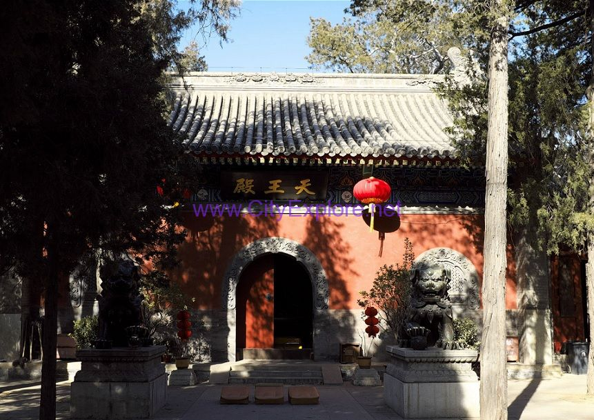Hall of Heavenly King in Fayuan Temple