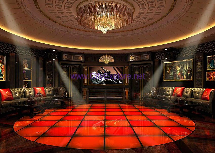 The Glass Dance Floor of Paramount Hall
