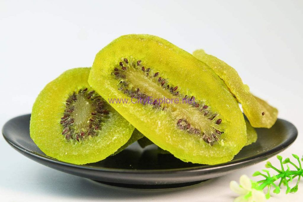 Preserved kiwi fruit
