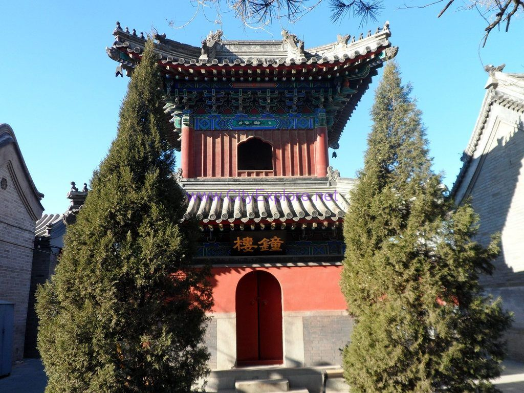 Bell Tower of White Cloud Temple