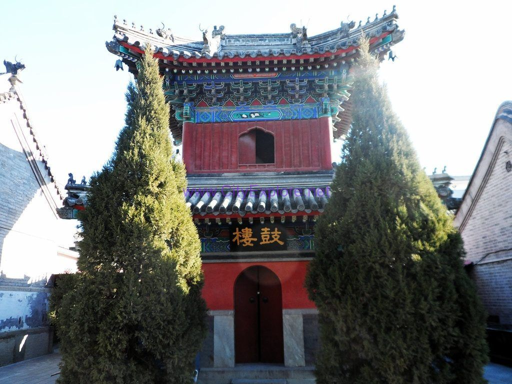 Drum Tower of White Cloud Temple