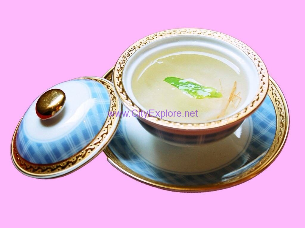 bird's nest with Clear soup