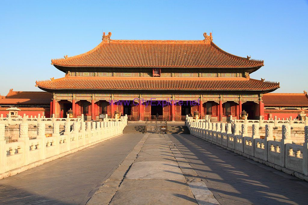 the Qianqing Palace(the Palace of Heavenly Purity), the Forbidden City