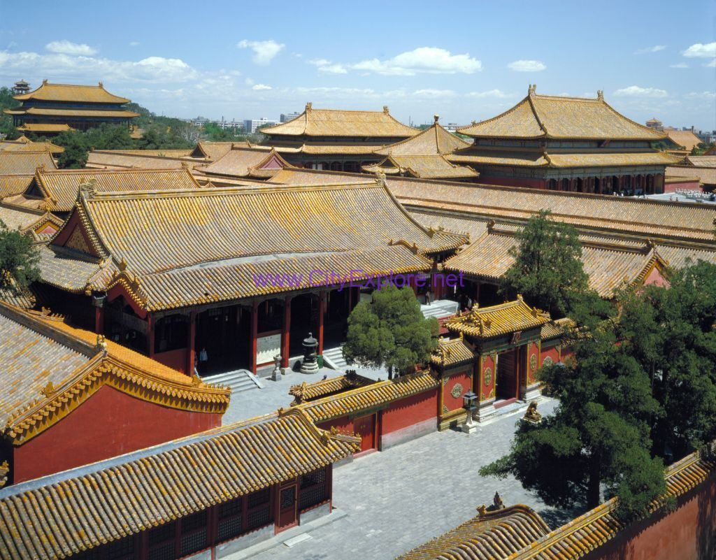 the Hall of Mental Cultivation, the Forbidden City