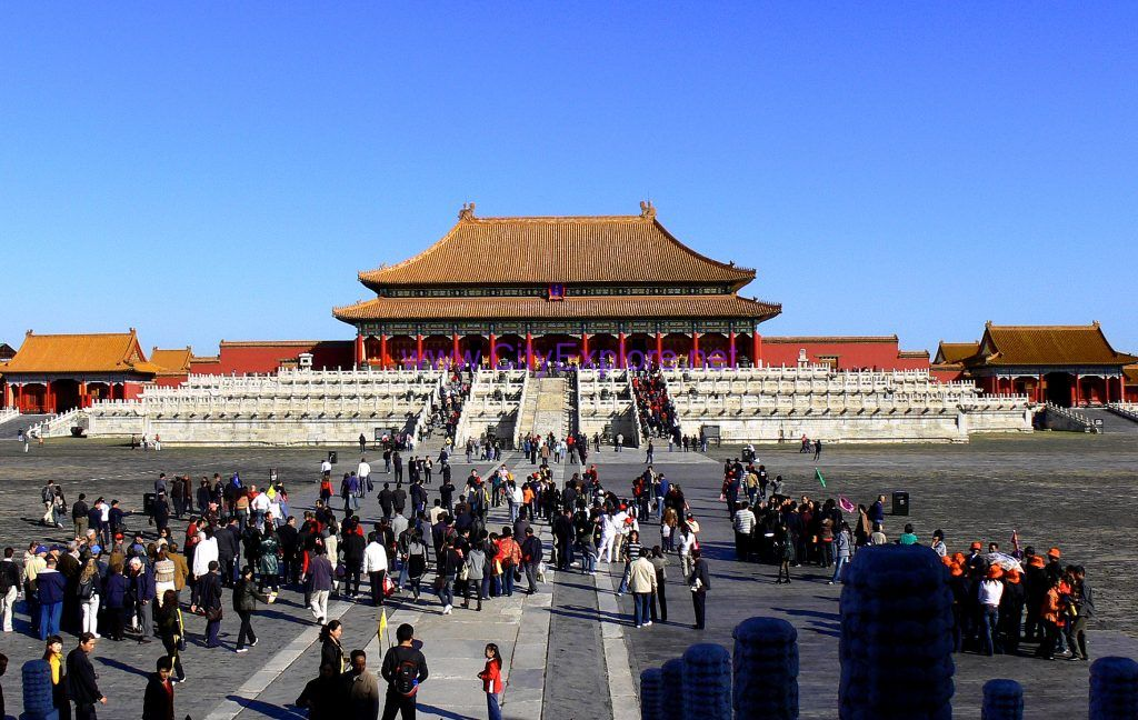 The Taihe Palace(the Hall of Supreme Harmony), The Forbidden City