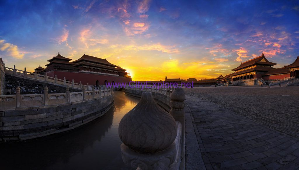 The Forbidden City , one of the world's largest palace