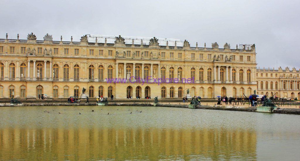 Versailles in France, one of the world's five Palace