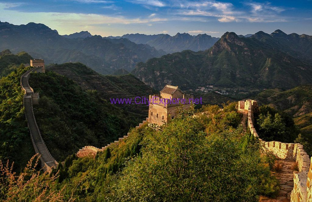 Huangya Pass Great Wall,Tianjin