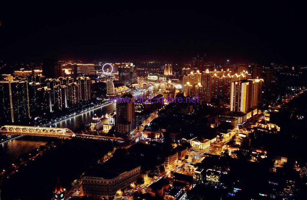 The Night Scene of Tianjin