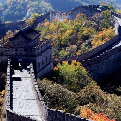 The watchtower of Mutianyu Great Wall