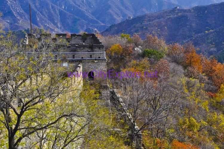 The beacon tower of Mutianyu Great Wall