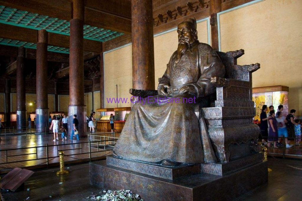 Emperor Zhu Di,the Ming Dynasty