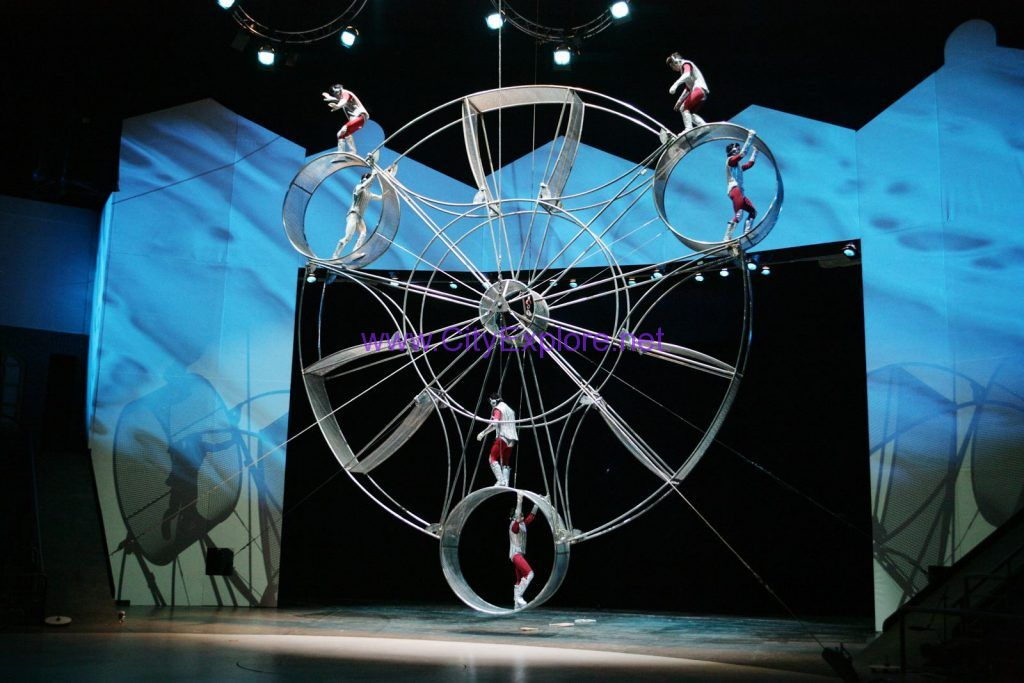 a Circus Performance in Shanghai Circus World