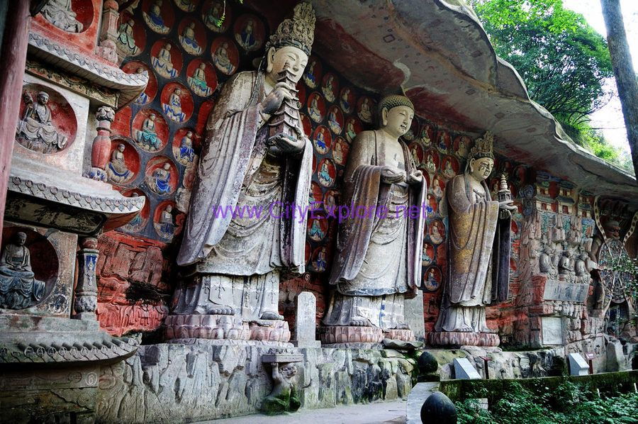 The Dazu Stone Carvings, which were excavated in the Song Dynasty, are classics of ancient Chinese Buddhist Statues.