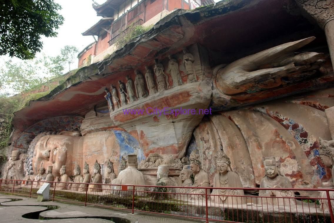 Dazu Stone Carvings, Chongqing