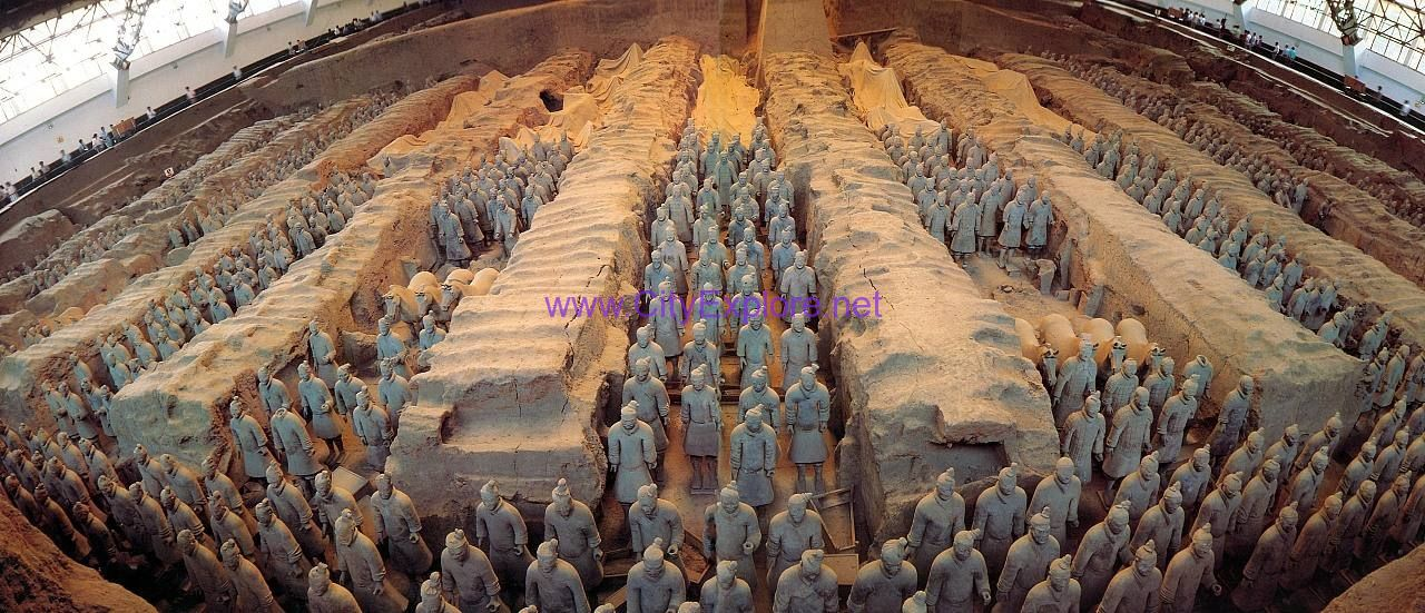 Terracotta Army Pit