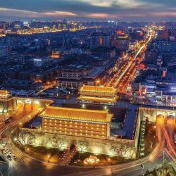 Xi an, a famous historical and cultural city in China